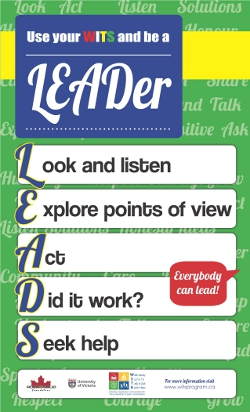LEADS poster